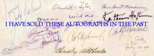 How Do I Have Famous Autographs Appraised? | Reference.com
